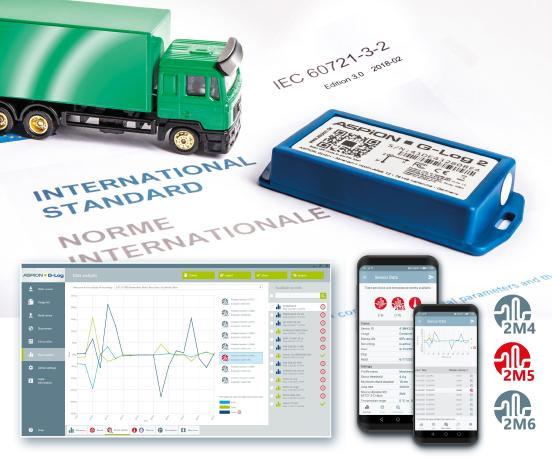 Logistics BusinessFirst data logger meets IEC standard