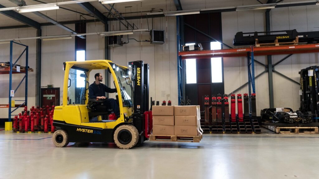 Logistics BusinessHyster Li-ion forklifts overcome tough industry challenges