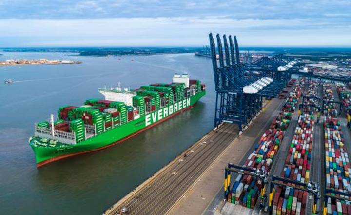 Logistics BusinessFelixstowe welcomes world's largest container ship