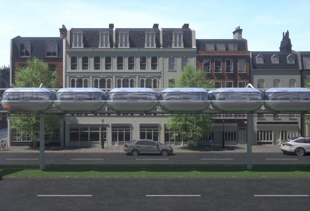 Logistics BusinessMass transit 'pods' aim to revolutionise transport